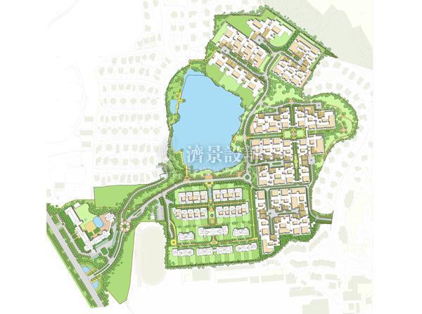 杭州绿城玫瑰园别墅图片大全 绿城玫瑰园别墅欣赏 全景别墅