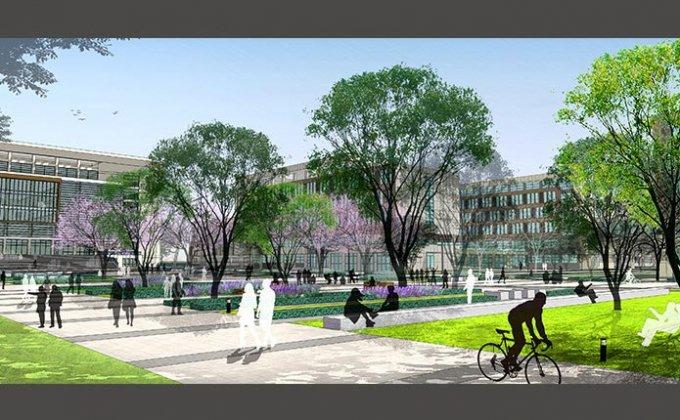 郑州铁路职业技术学院_大学校园_景观设计_济景建筑